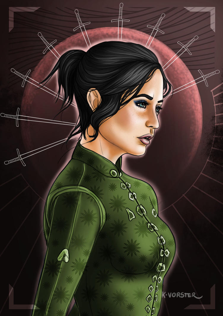 Commission: Talia Trevelyan by Kailerine