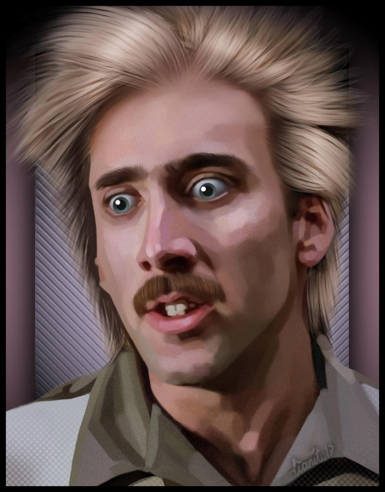 Nicolas Cage by lianit