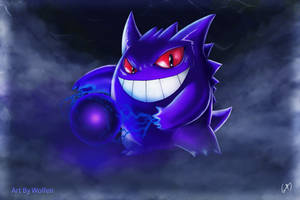 GENGAR POKEMON by Maucen