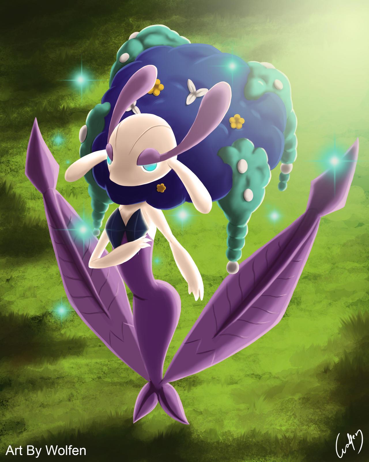 Florges pokemon by Wolfen-C on DeviantArt