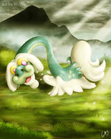 Drampa Pokemon by Maucen