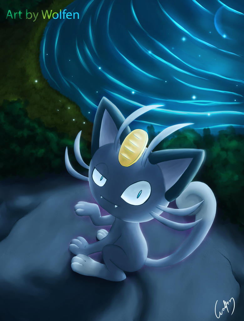 Pokemon Meowth Alola by Wolfen-C on DeviantArt