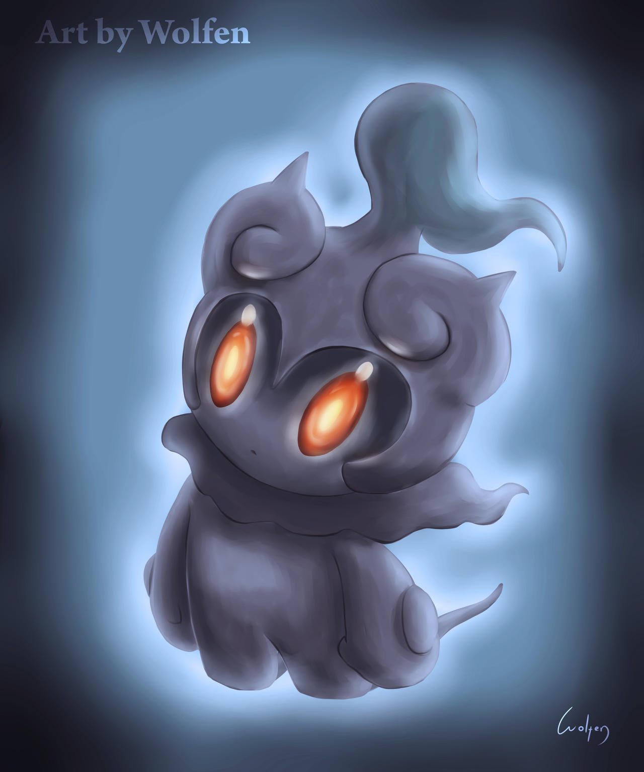Marshadow Pokemon by Wolfen-C
