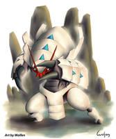 Golisopod Shiny Pokemon by Maucen