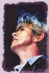 David Bowie - Digital  Watercolour