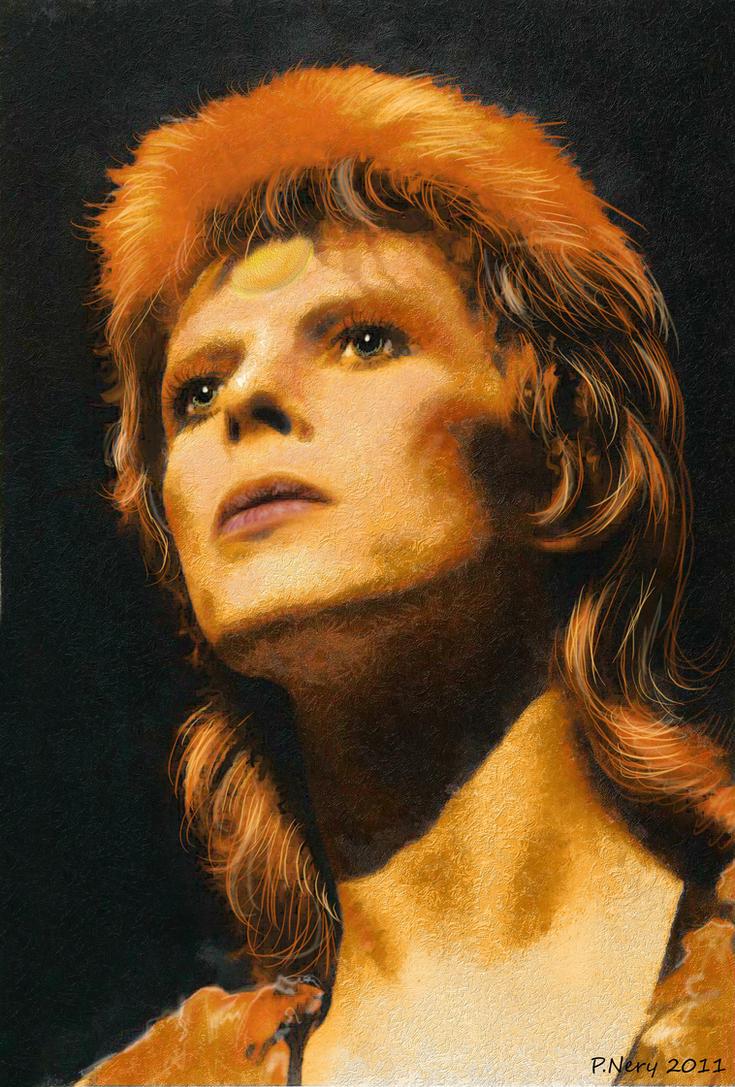 David Bowie III by paulnery