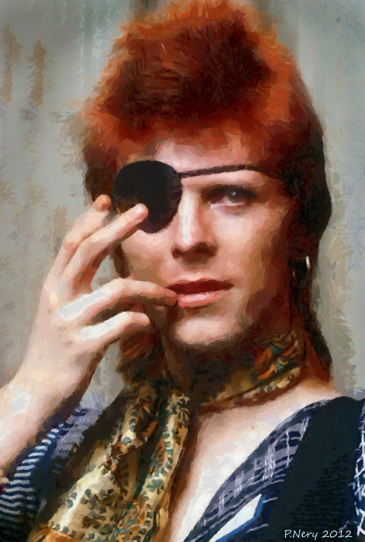 David Bowie V by paulnery