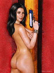Ariane B - Gorgeous, Dangerous and Naked by paulnery