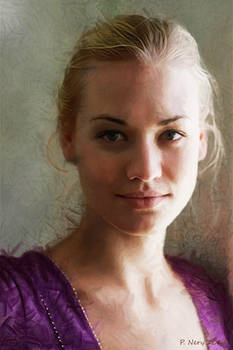 Portrait Of Yvonne