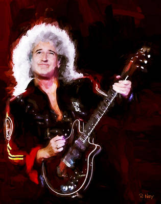 Dr Brian May by paulnery