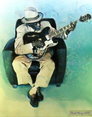John Lee Hooker by paulnery