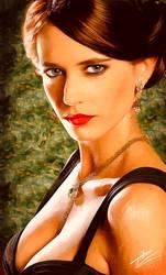 Eva Green by paulnery