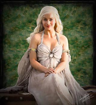 Daenerys Targaryen by paulnery