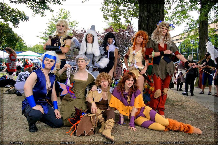 Elfquest cosplay group by Rollwurst