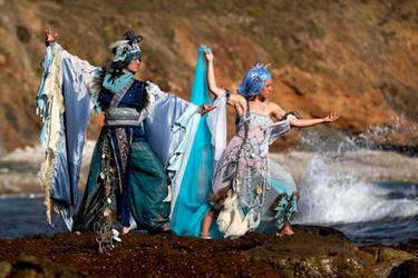 Water spirits by Rollwurst