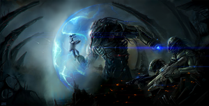 alien world concept