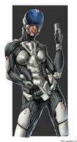 war suit girl