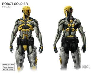Bionic Soldier Rolf Bertz by Rofelrolf