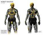 Bionic Soldier Rolf Bertz