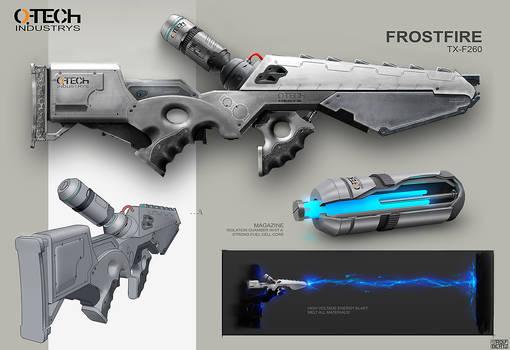 Frostfire Weapon Concept Rolf Bertz