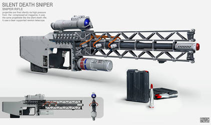 Sniper Rifle Concept by Rofelrolf