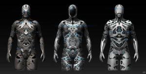 Sci-fi Modo suits