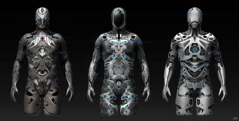 Sci-fi Modo suits by Rofelrolf