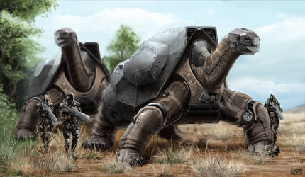 Mech Turtle
