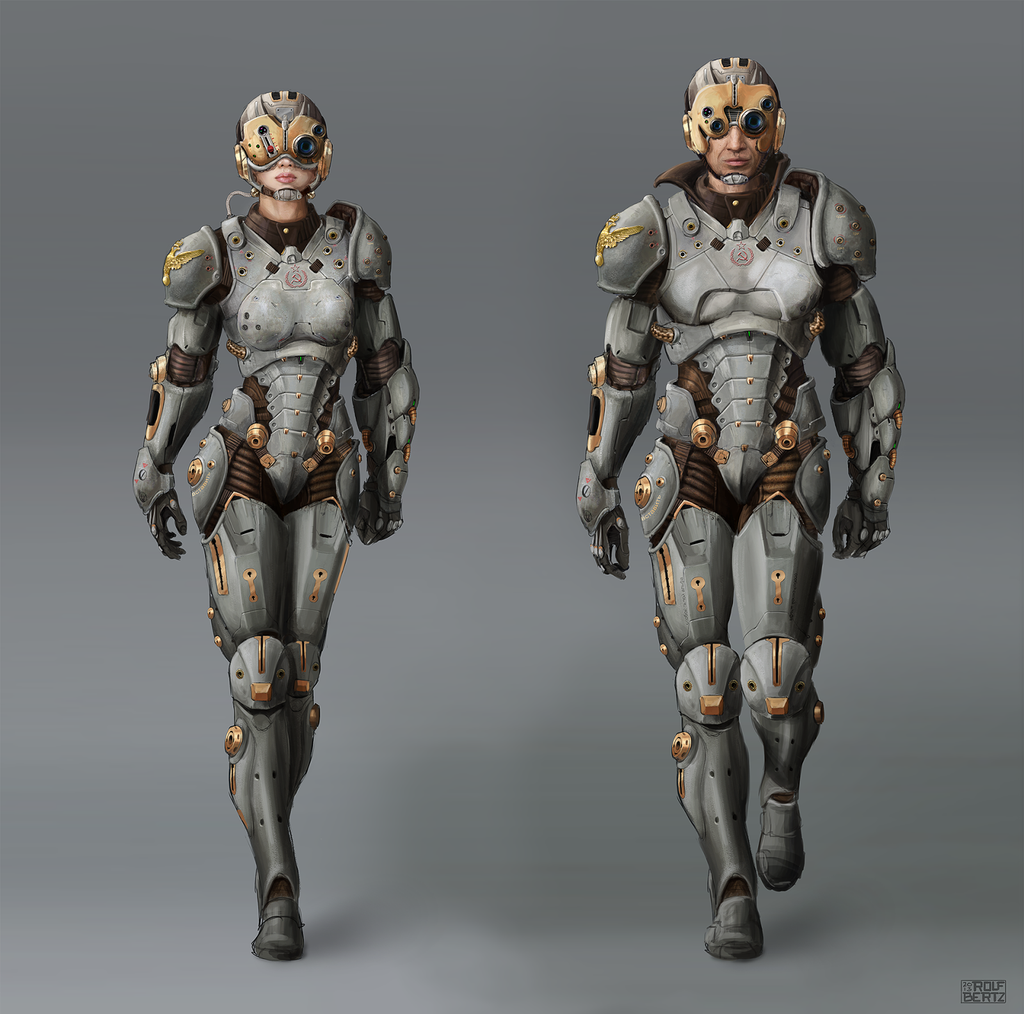 The gallery for --> Futuristic Alien Suit