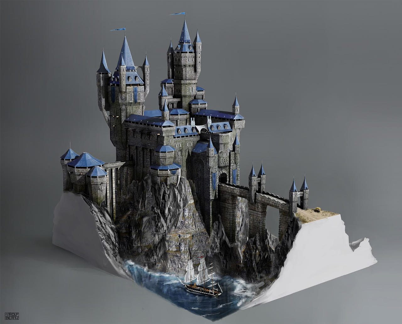 castle concept art by - photo #3