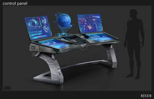 Control Panel Concept by Rofelrolf