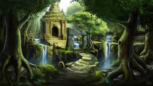 Jungle Ruin Concept