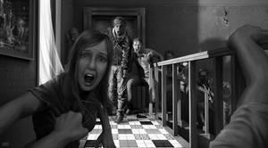 zombie floor artwork