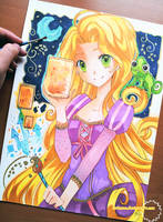 +Tangled-Painting My Dream+ by larienne