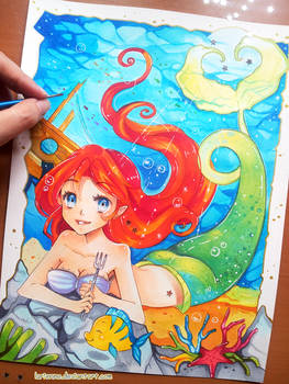 +The Little Mermaid - Part of Your World+