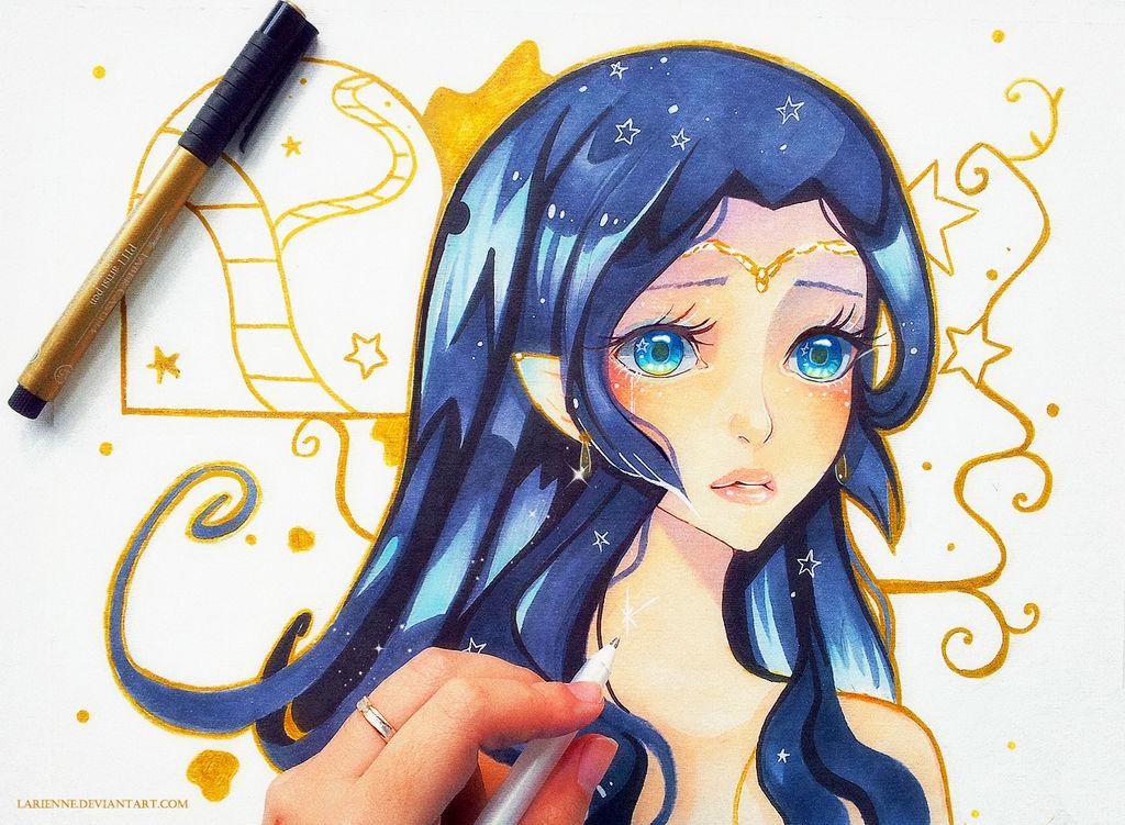 +Starlight in Her Eyes+