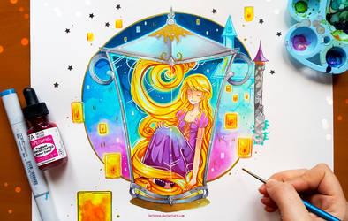 +Rapunzel - I see the Lights+