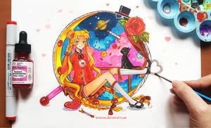 +Sailor Moon Heart+ by larienne