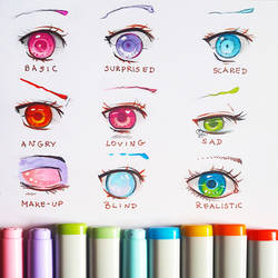 +Manga Eye Expressions+