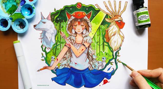 +Princess Mononoke+