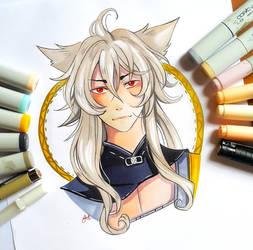 +Touken Ranbu - Kogitsunemaru+ by larienne