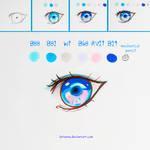 +Mini Manga Eye Tutorial+