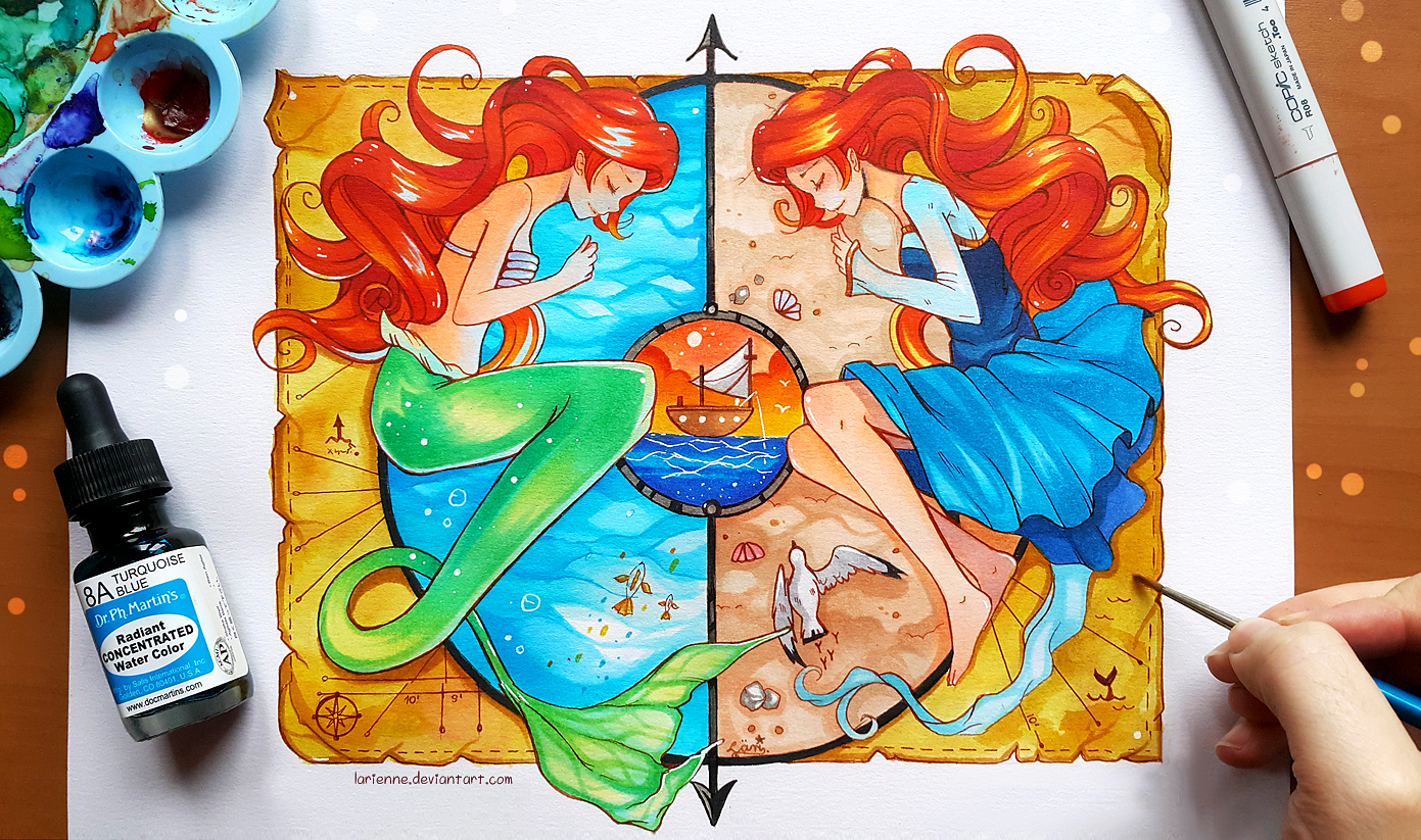 +Little Mermaid - The Land and The Sea+