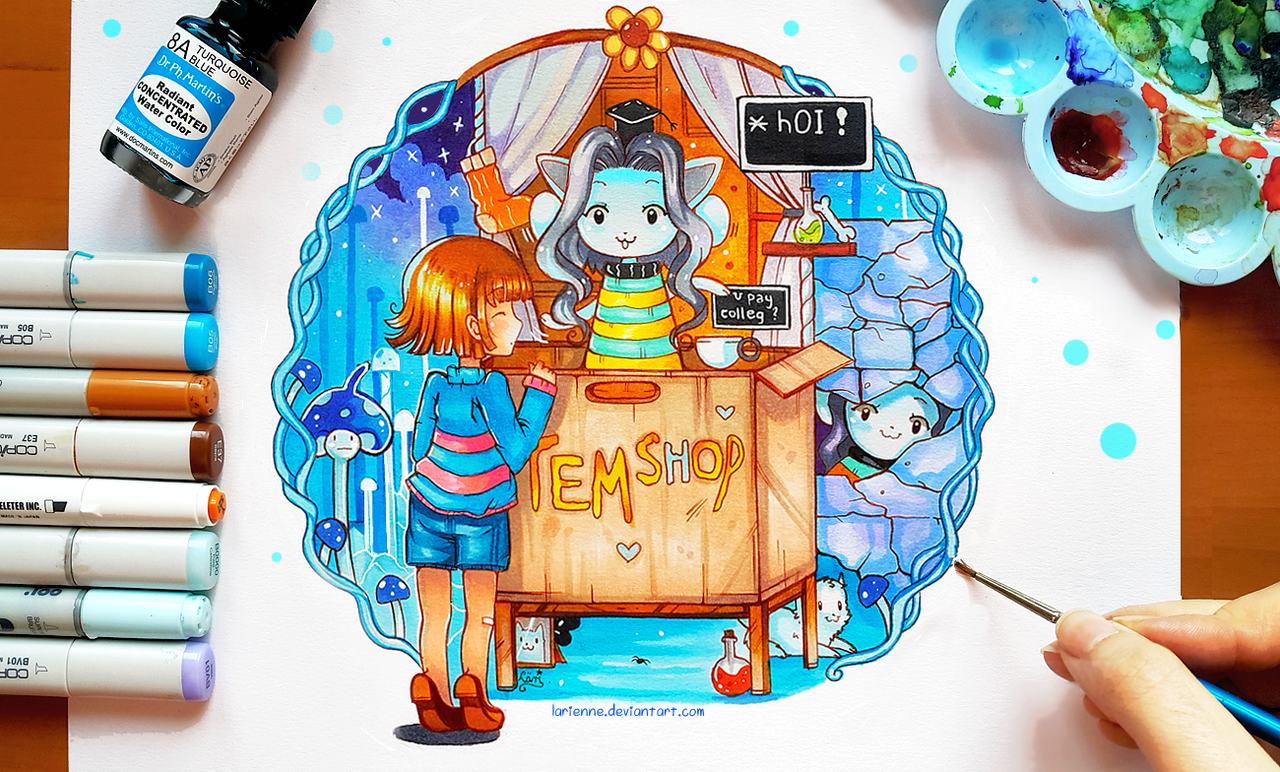 find temmie village