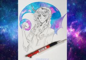 +Galaxy Demon+ by larienne