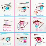+ Manga Eye Expressions 2+