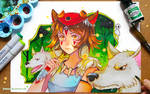 +Princess Mononoke - Fireflies+