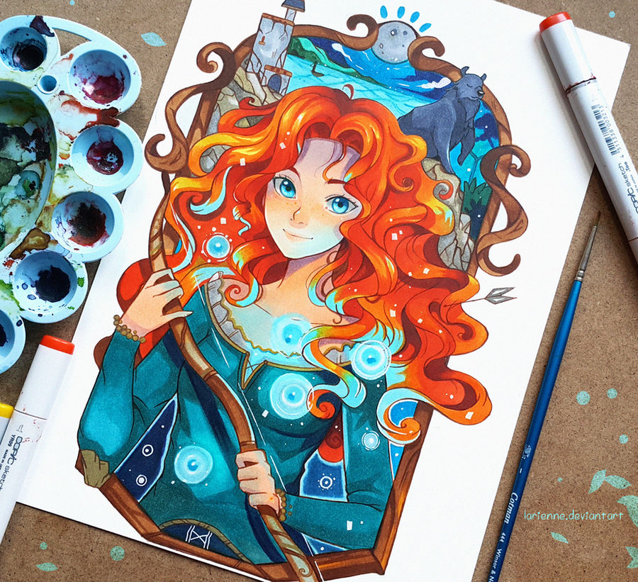 +Merida - Noble Maiden Fair+