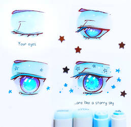 +Your Eyes like Starry Sky+