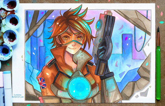 +Tracer - Overwatch+